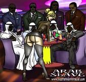 Illustratedinterracial - Arab Slave