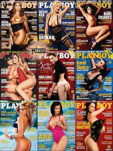 Playboy Slovenia - Full Year 2010 Collection