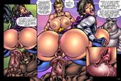 Superheroinecomixxx - Alien Orgy Farm