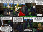 Illustrated Interracial – Homeless Man's New Wife
