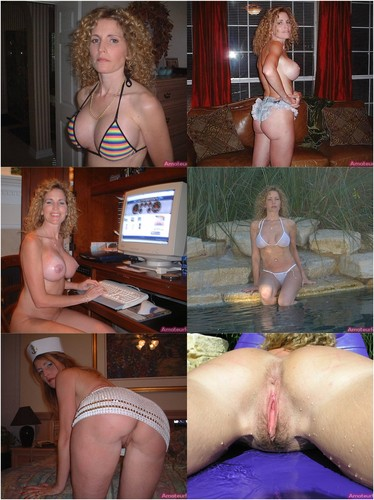 Amazing Big Titted Blonde Milf Showing Off Her Body