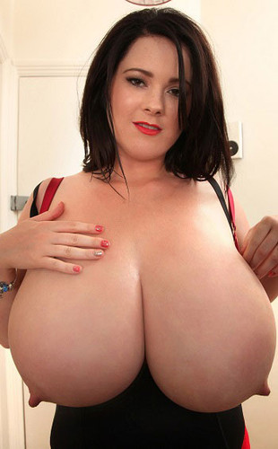 Rachel Aldana – Monstrous Boobs Red Satin Bra 2 HD 720p