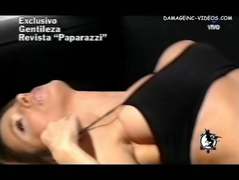 Flavia Palmiero big boobs oops