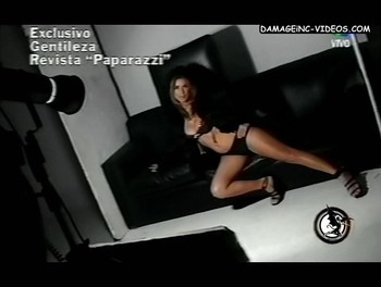 Flavia Palmiero black lingerie damageinc videos