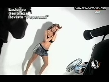 Flavia Palmiero sexy photoshoot video