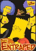 Comics Toons Bart Entrapped