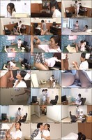 DANDY466 Alone With a Good-Looking Guy in a Semen Collection Room! A Middle-Aged Nurse Was Caught Of...