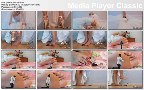 Giantess BRIDE feet SFX