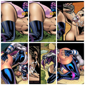 SUPERHEROINECOMIXXX - HOT SHOTS AND 6 COMICS