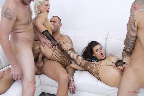 LegalPorno.com - Billie Star Blanche Bradburry - double anal gangbang feat Nacho Vidal SZ580