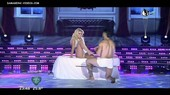 Ailen Bechara legs spread in bed