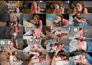 BangBros 18 Dolly Little Post Class Seduction By A Red Head