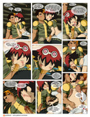 Area - Oban Star Racers - 10 pages