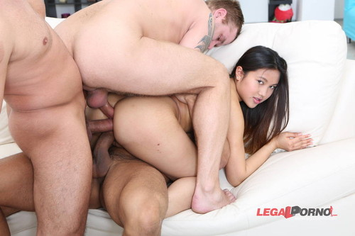 Remarkable Asian girl dap