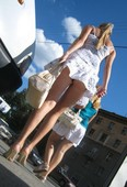 upskirts cameltoes candid no panties