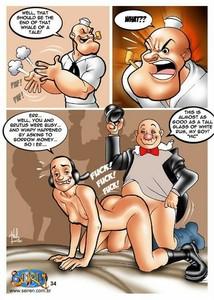 and popeye cartoon porn oyl Olive