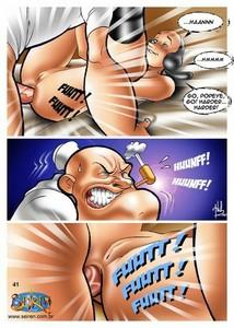 Cartoon fucking story